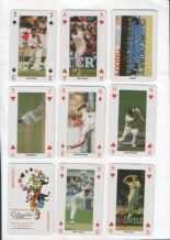 Collectible Playing cards. World Cup CRICKET England 1999